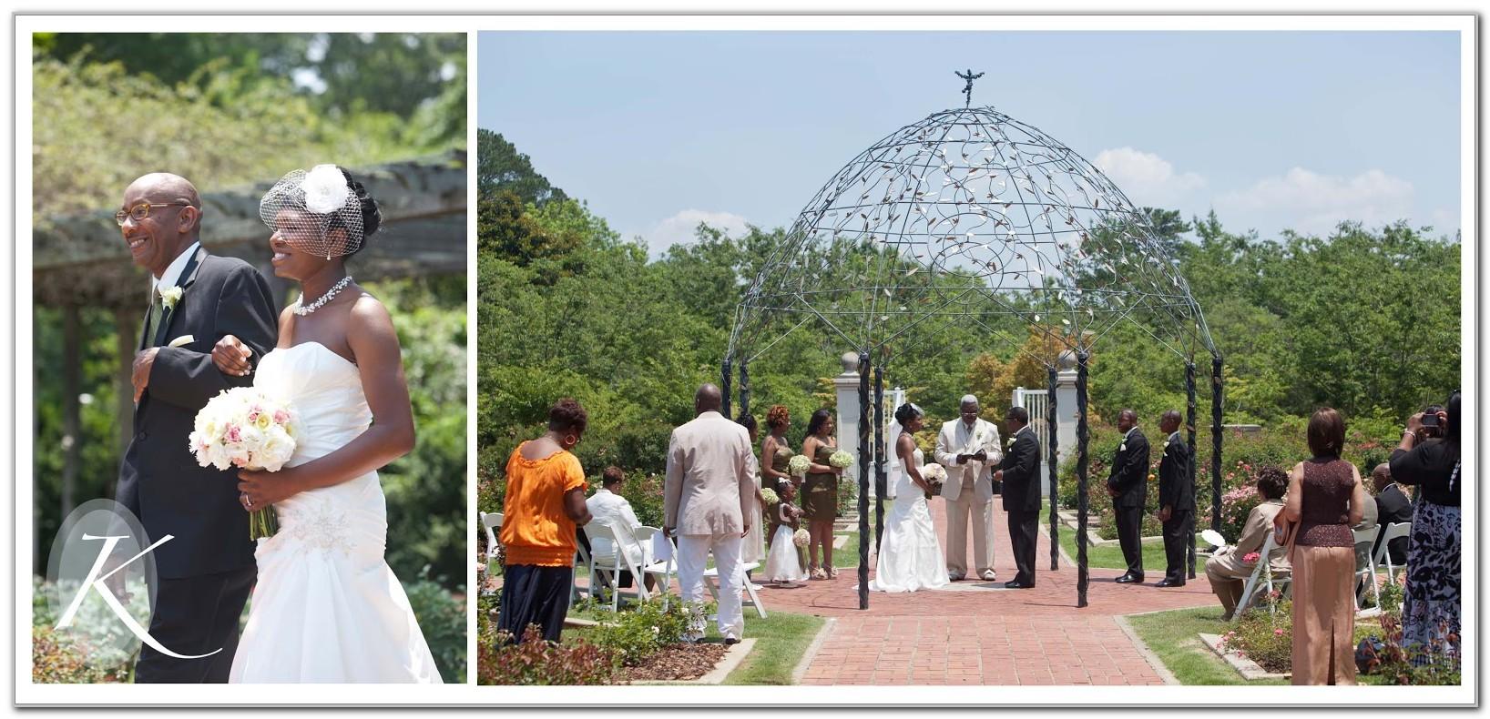 Botanical Gardens Birmingham Al Wedding