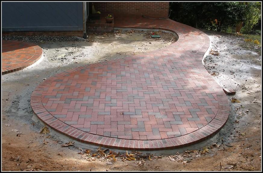 Brick Patio Patterns Circular