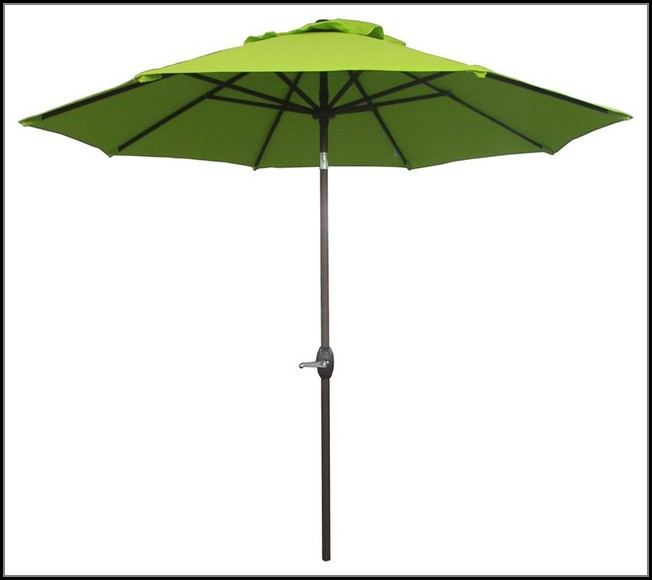 Bright Green Patio Umbrella