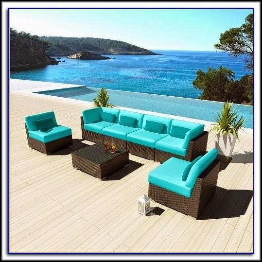 Brown Plastic Wicker Patio Furniture