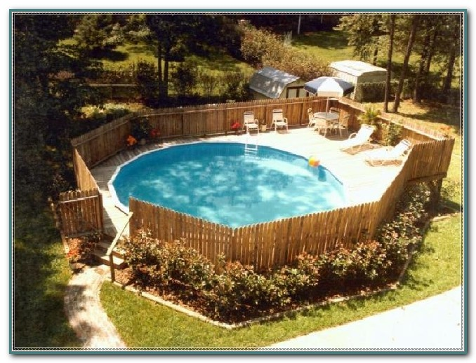 Building Decks Around Above Ground Pools