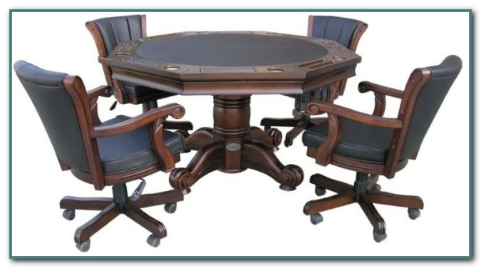 Bumper Pool Poker Dining Table