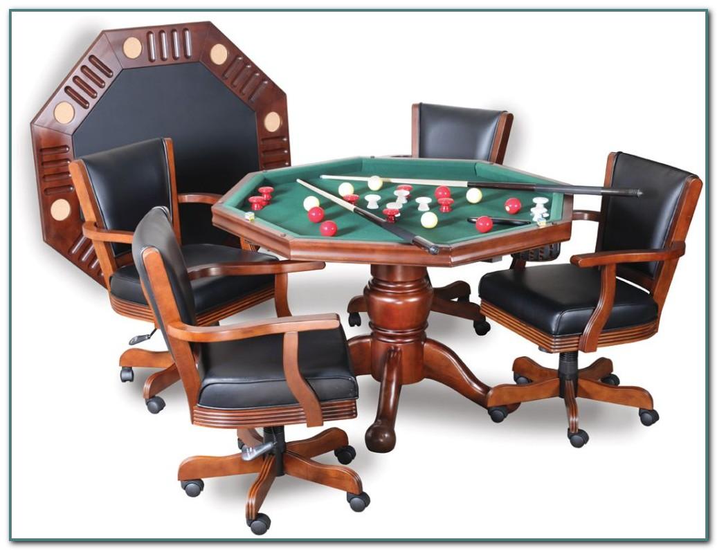 Bumper Pool Poker Table