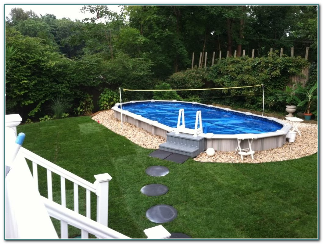 Buried Above Ground Pools