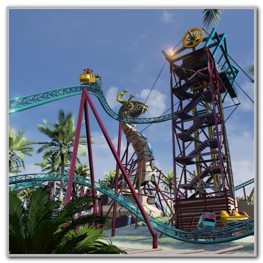 Busch Gardens New Ride 2016
