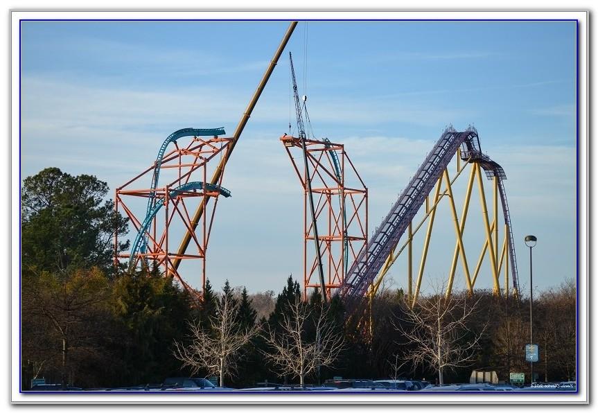 Busch Gardens New Ride Falcons Fury