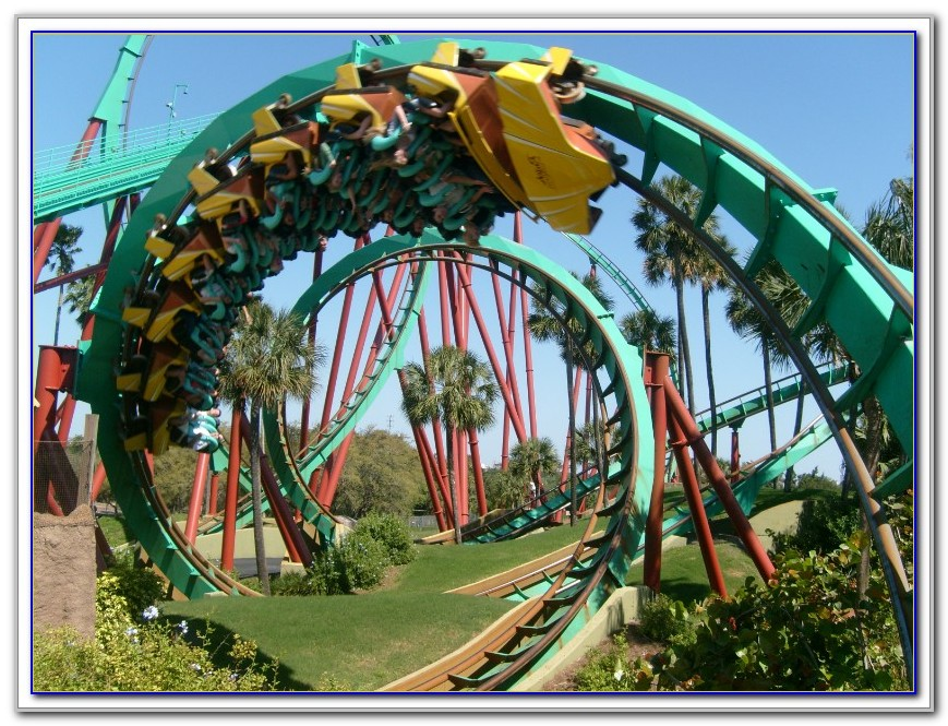 Busch Gardens New Roller Coaster Video