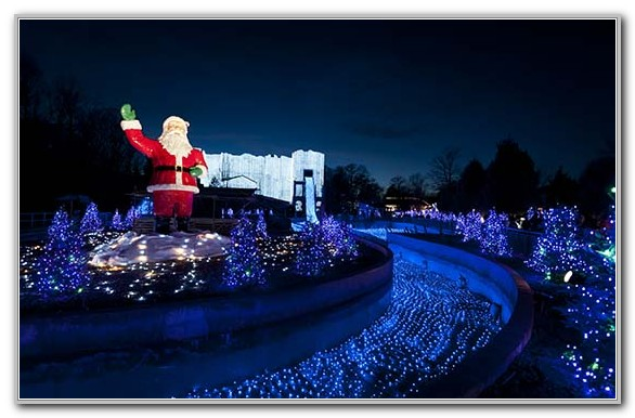 Busch Gardens Williamsburg Virginia Christmas Town