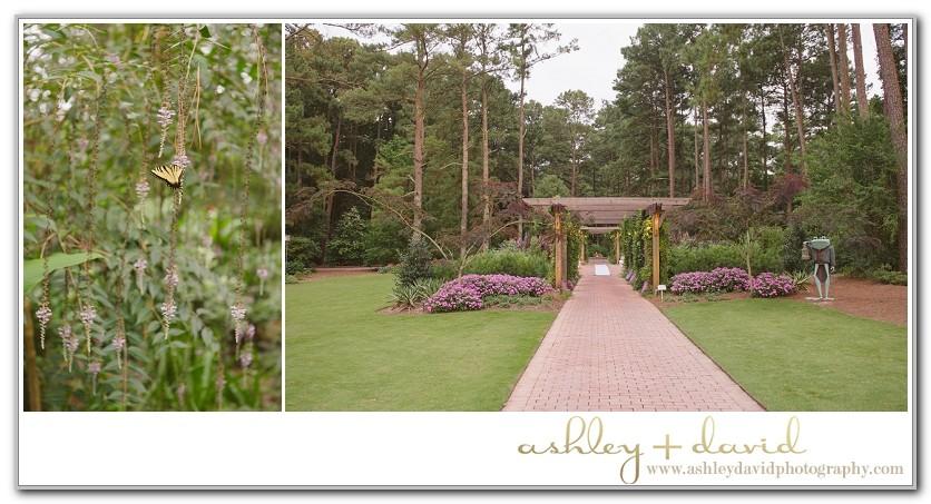 Cape Fear Botanical Garden Wedding