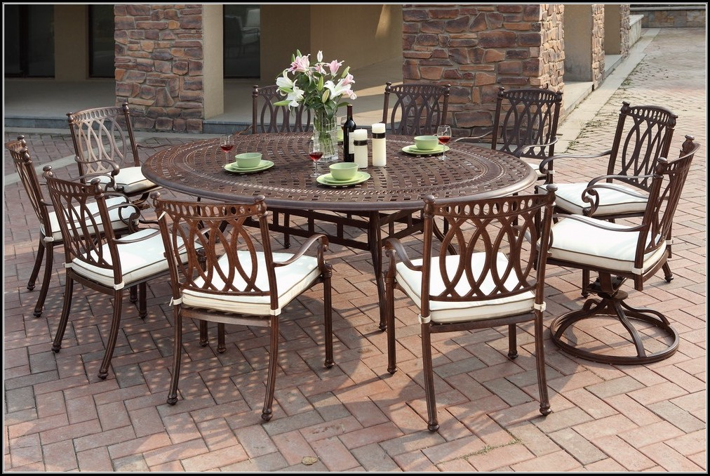 Cast Aluminum Patio Chairs