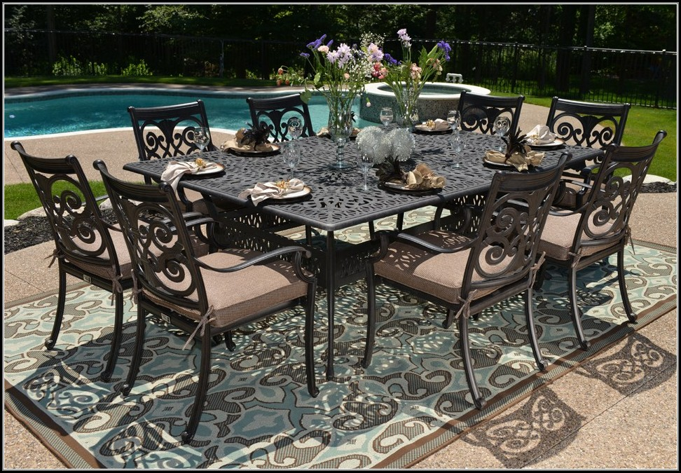 Cast Aluminum Patio Sets