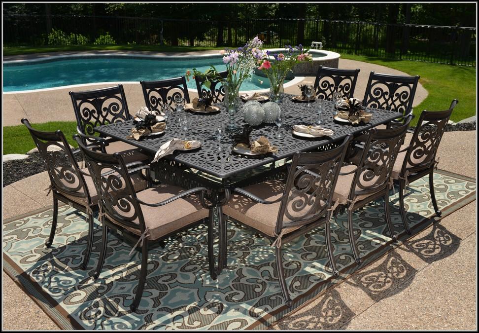 Cast Aluminum Patio Table Sets