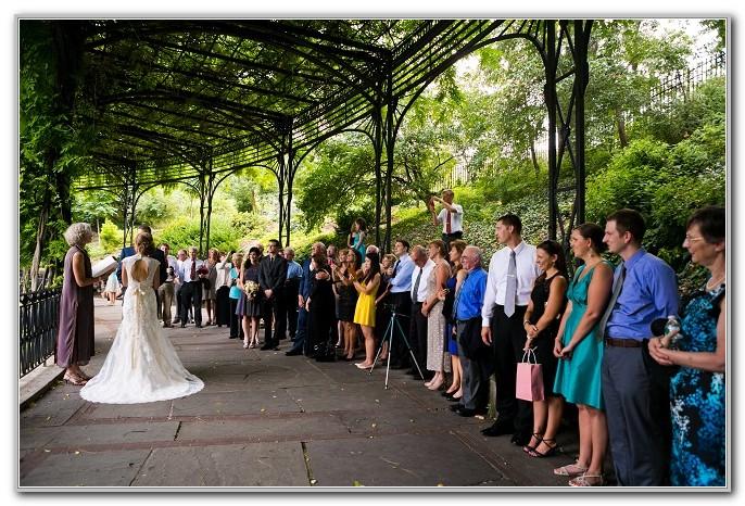 Central Park Conservatory Garden Wedding