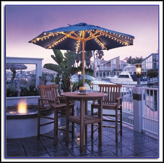 Christmas Lights For Patio Umbrella