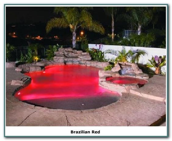 Color Splash Led Pool Light Fixture