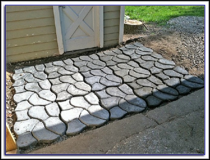 Concrete Molds Patio Pavers