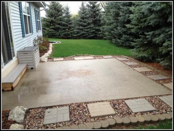 Concrete Patio Ideas For Small Backyards