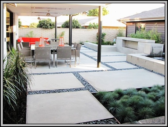 Concrete Patio Ideas Uk