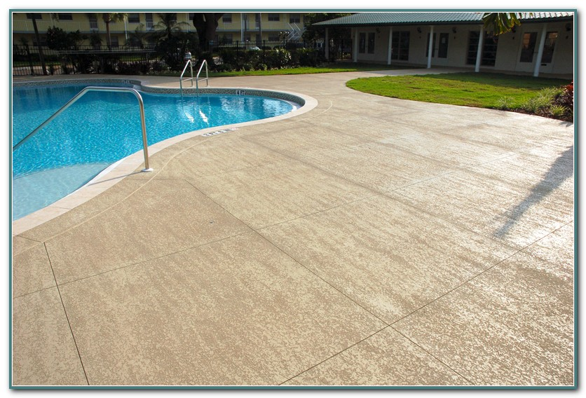 Concrete Pool Deck Coating