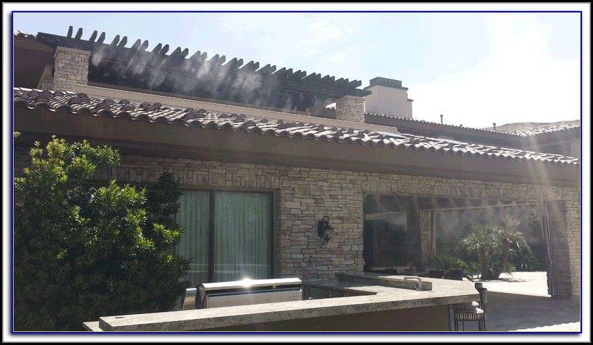 Cooling Misters For Patio