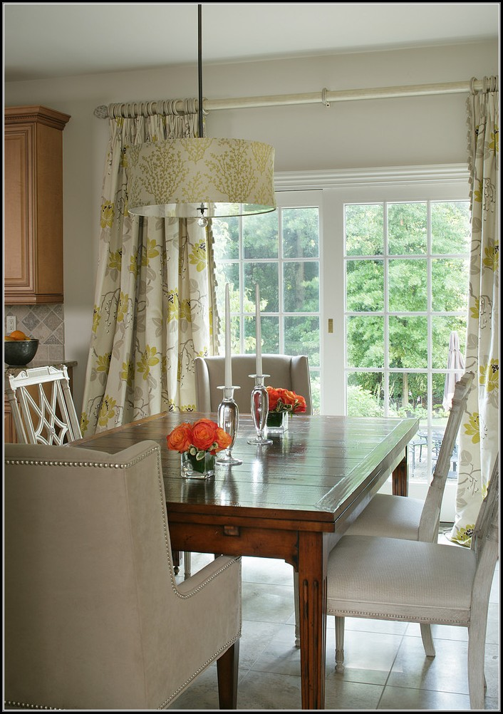 Curtains For Patio Doors In Dining Room