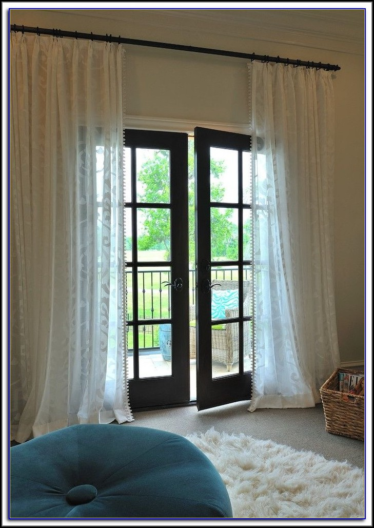 Curtains For Patio Doors Size