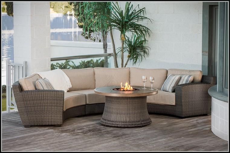Curved Sofa Patio Furniture