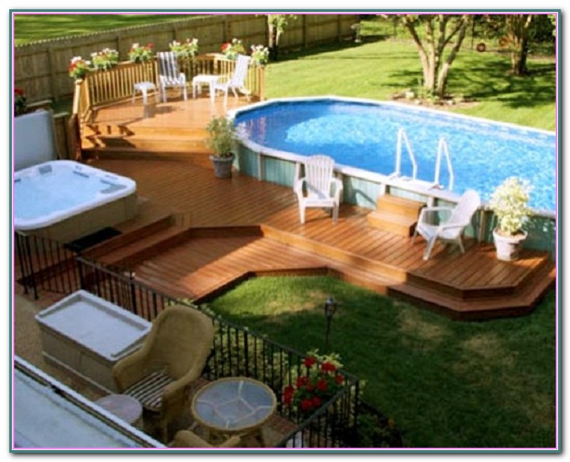 Decks Around Above Ground Pools