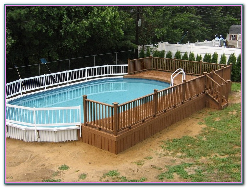 Decks For Above Ground Pools Photos