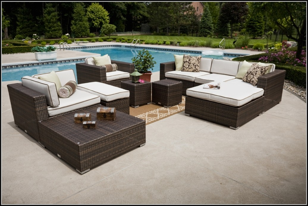 Deep Seating Patio Furniture With Fire Pit