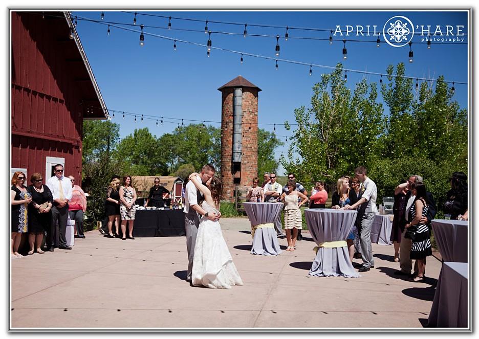 Denver Botanic Gardens At Chatfield Wedding