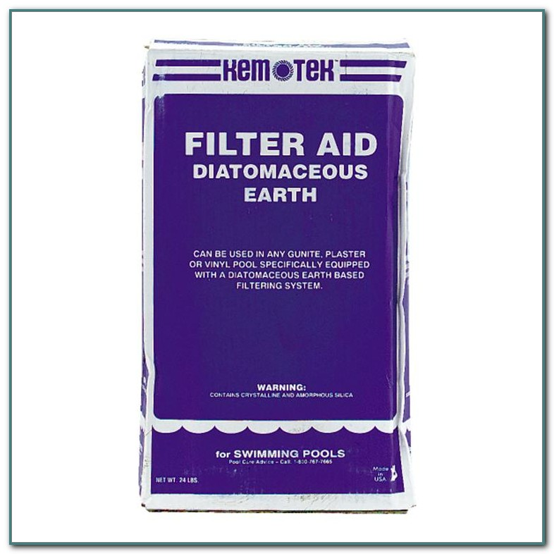 Diatomaceous Earth Pool Filter Cleaning