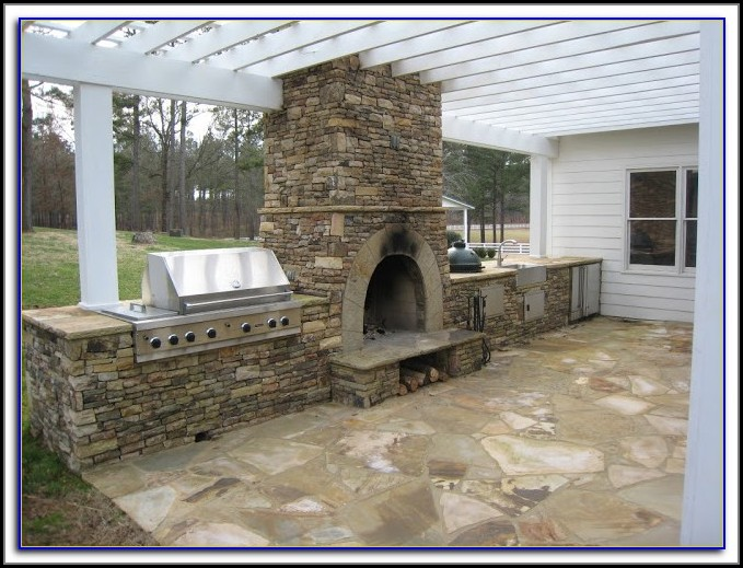 Diy Patio Fireplace Kits