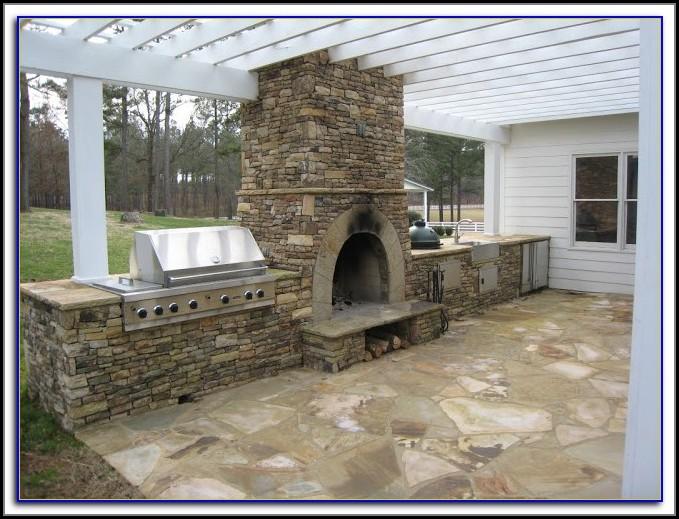 Diy Patio Fireplace Kits