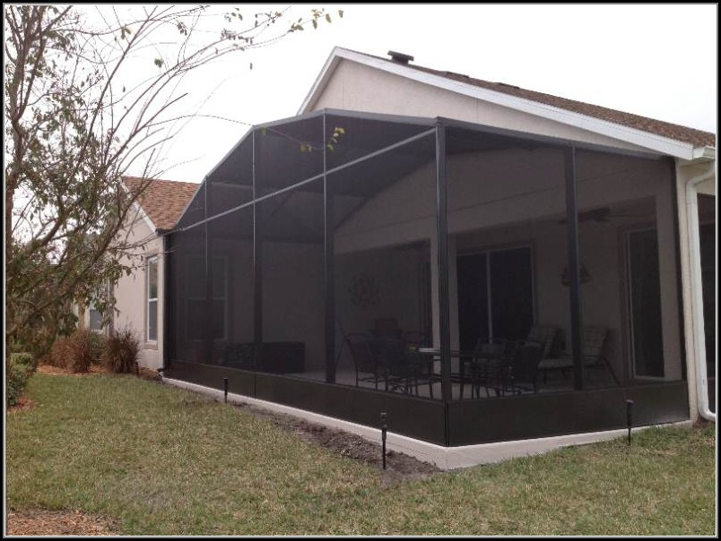 Diy Patio Screen Enclosure