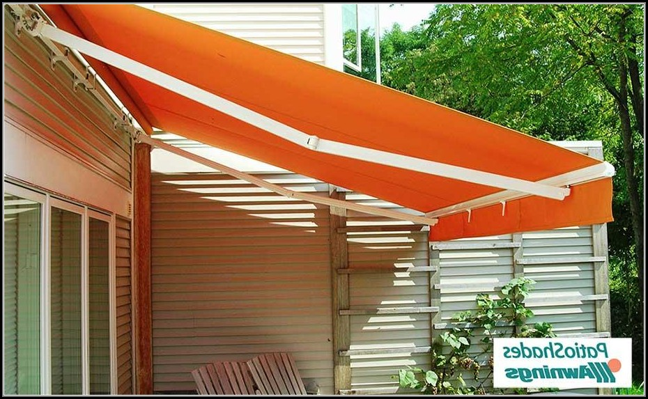 Diy Retractable Patio Shade