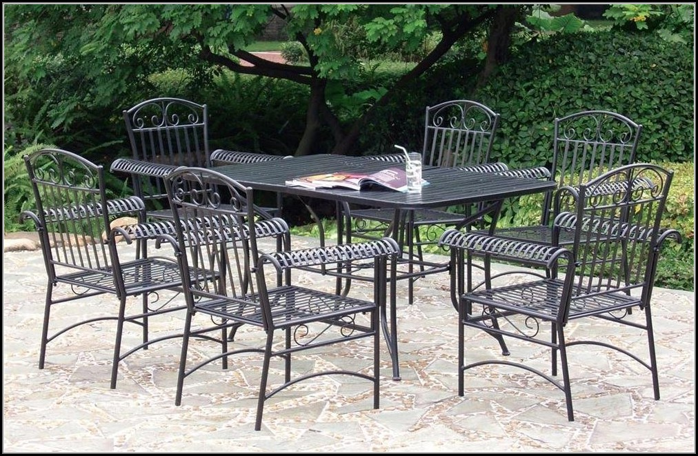Ebay Wrought Iron Outdoor Furniture