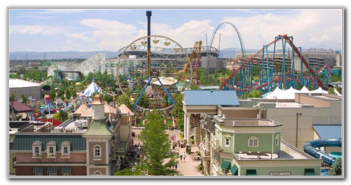 Elitch Gardens Theme Park Denver