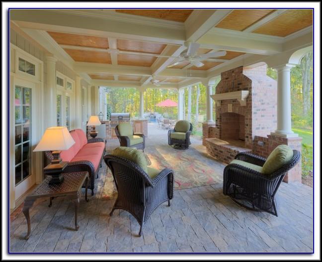 Enclosed Patio Deck Designs