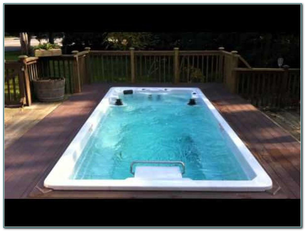 Endless Pool Swim Spa Dimensions