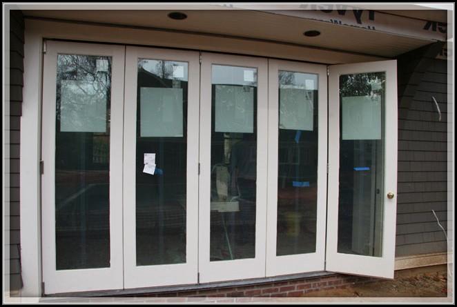 Exterior Folding Glass Patio Doors