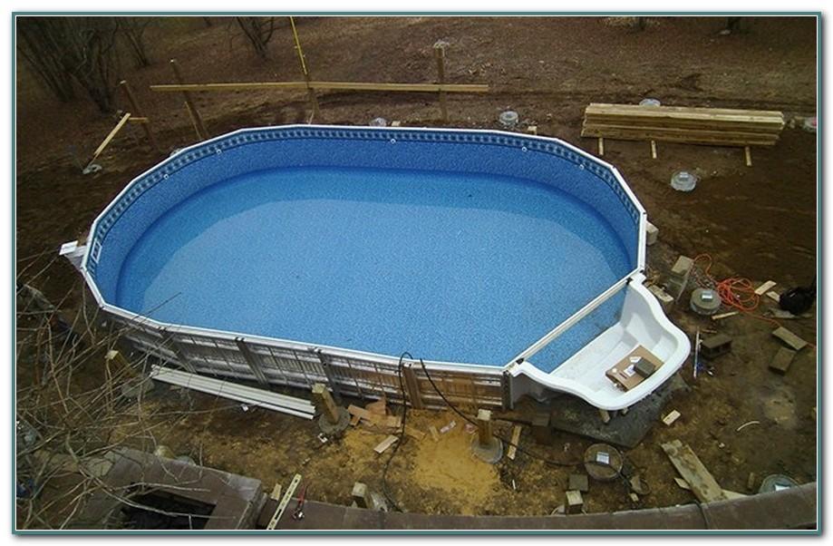 Ez Panel Semi Inground Pool Kits