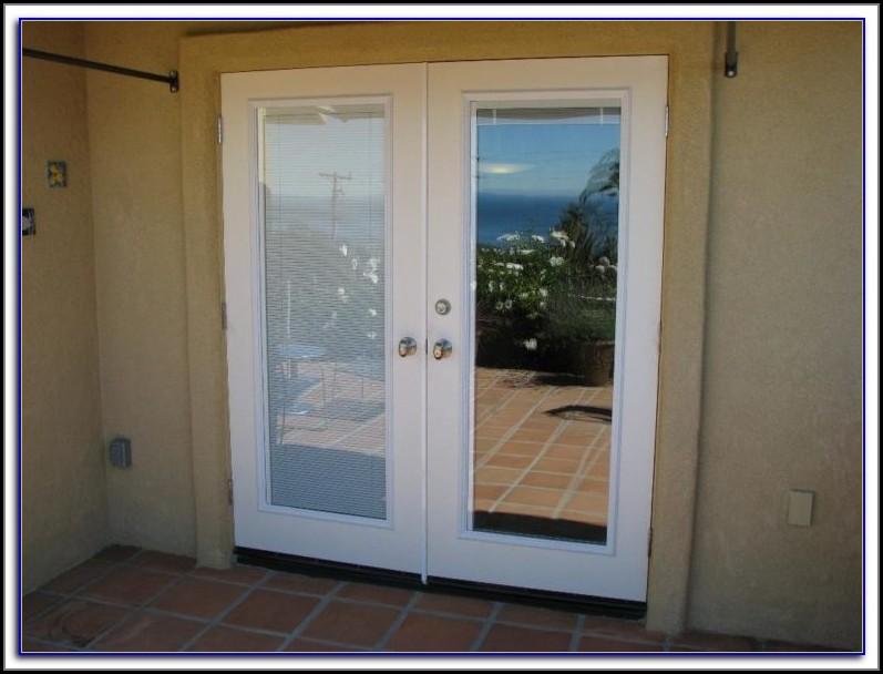 Fiberglass Patio Doors With Blinds