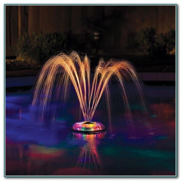 Floating Fountain Light For Pool