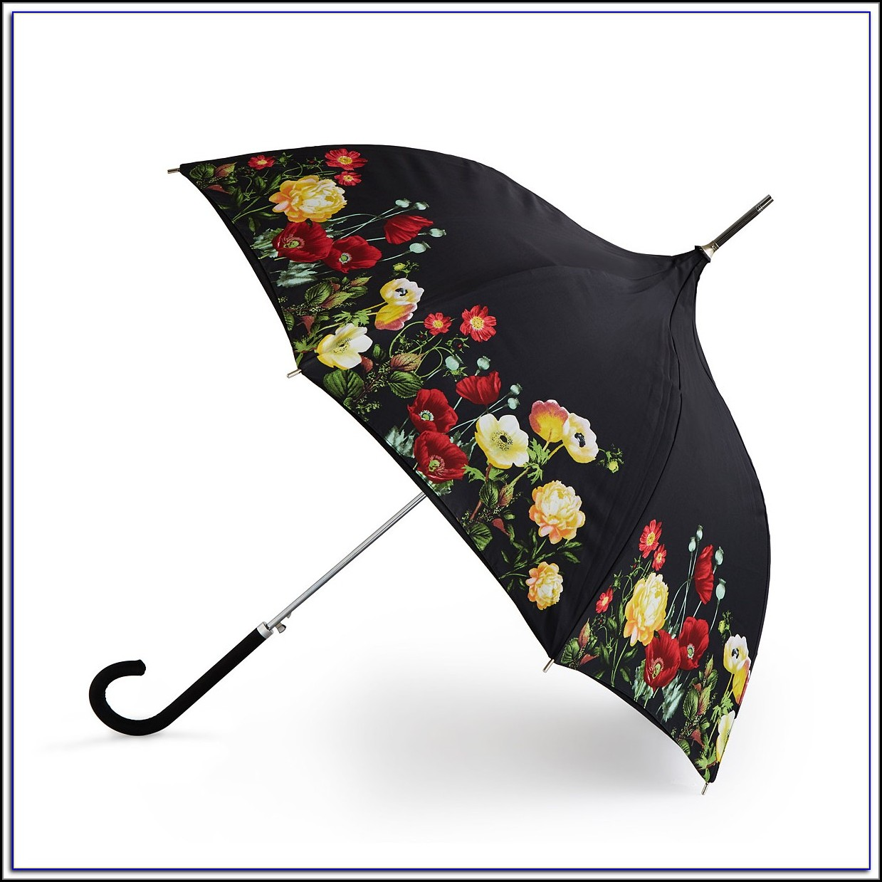 Floral Patio Table Umbrella