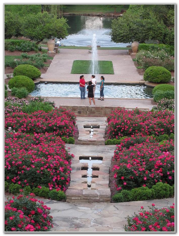 Fort Worth Botanical Gardens Rose Garden