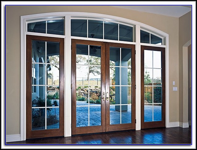 French Inswing Patio Door With Screen