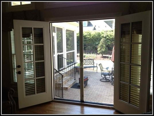 French Patio Doors With Screens