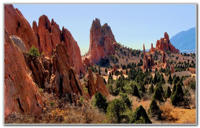 Garden Of The Gods Colorado Pictures