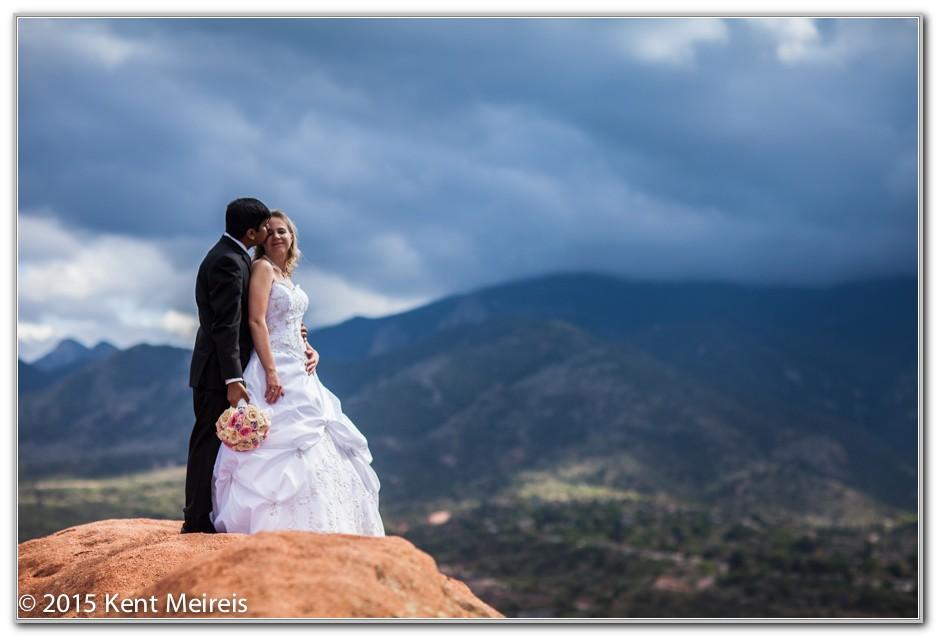 Garden Of The Gods Colorado Springs Wedding